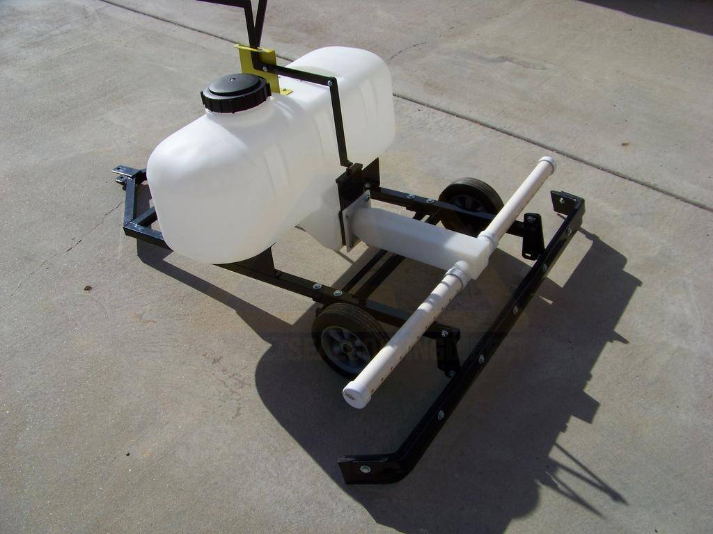 Driveway Pull Behind Sealing Machine For Sale Asphalt