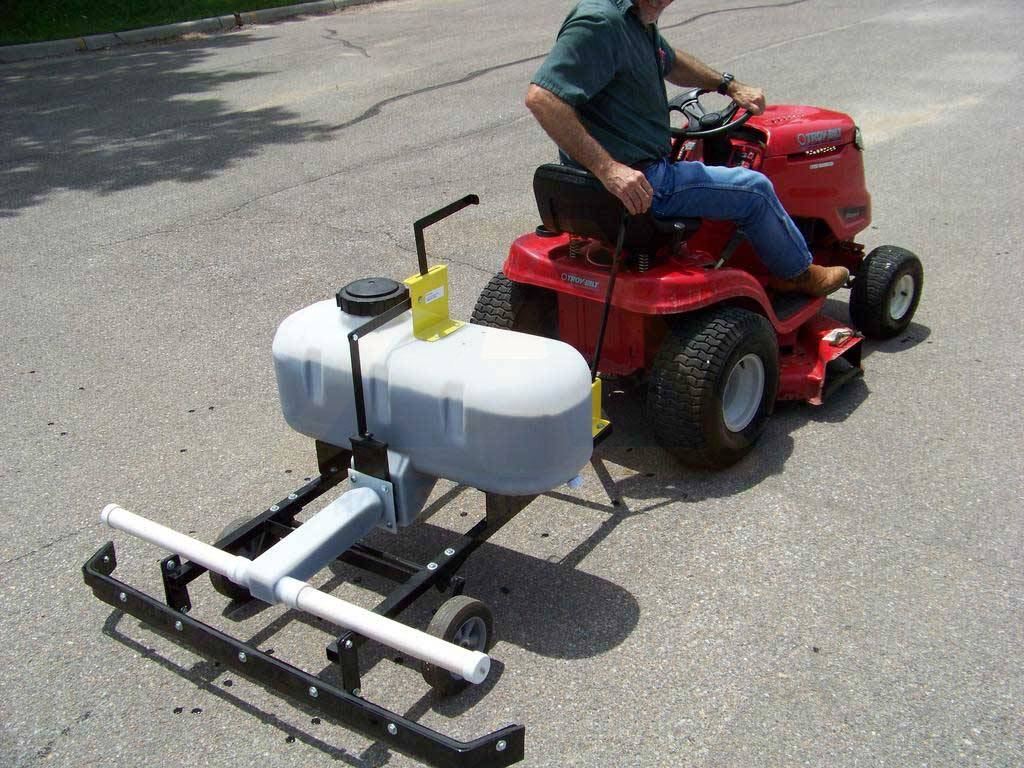 How To Make A Driveway Sealer Sprayer