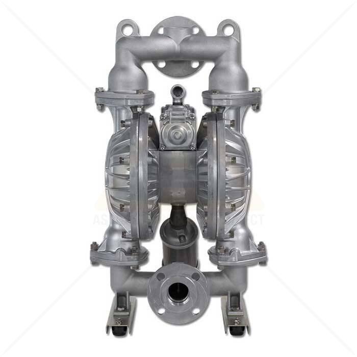 2 aluminum yamada dual diaphragm pneumatic pump asphalt image 2 inch yamada duel diaphragm pump ccuart Gallery