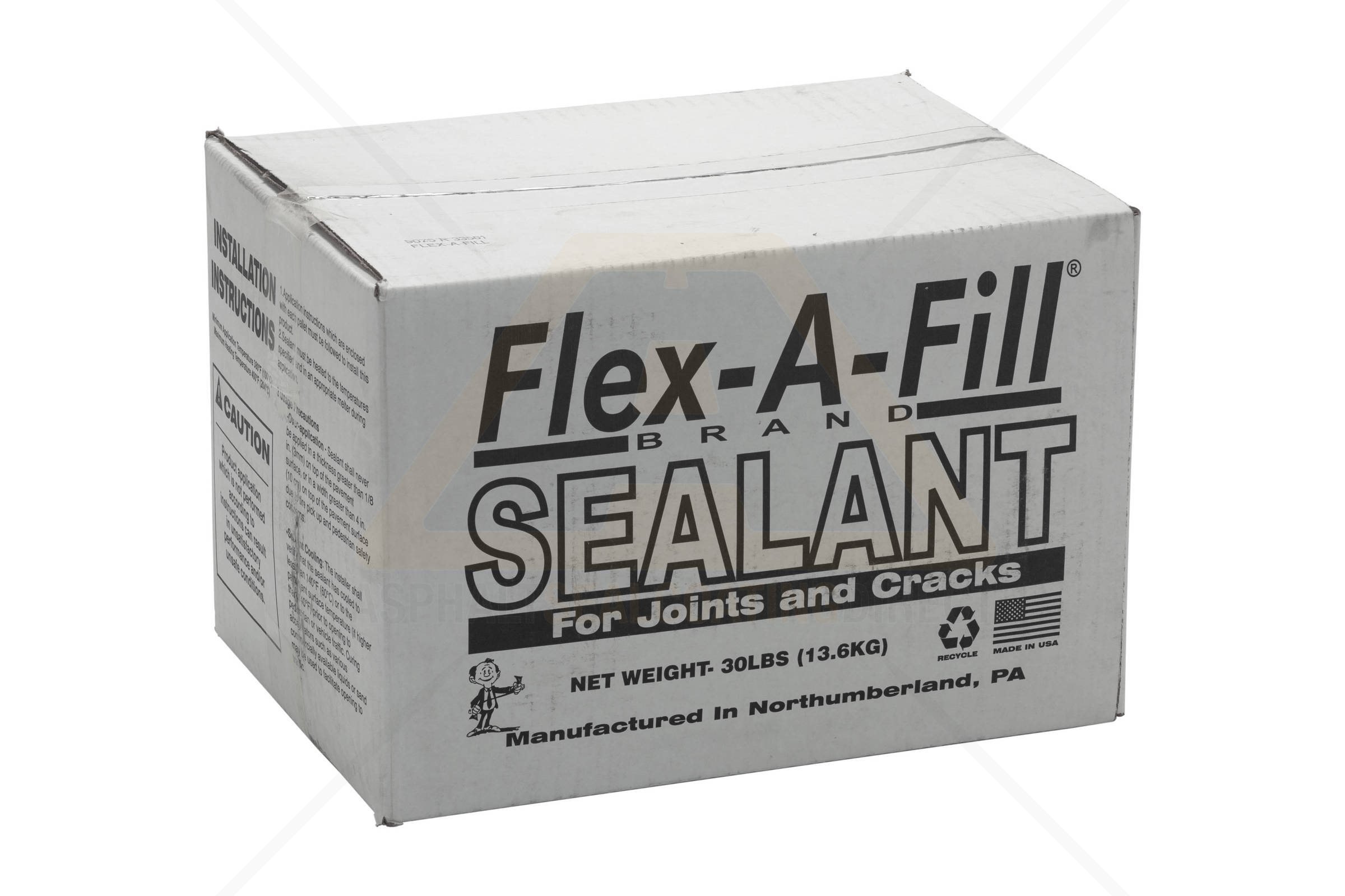 Flex-A-Fill Asphalt Crack Sealant